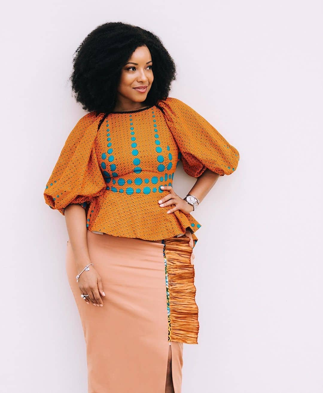 Ankara Skirt and Blouse Styles 20 /20   Dezango
