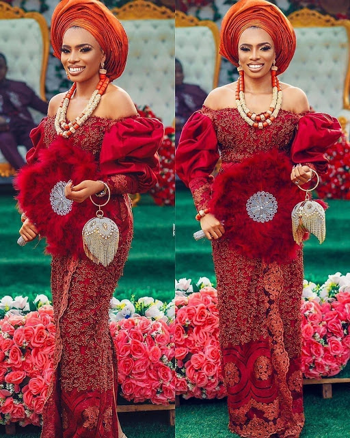 Checkout Latest Ankara and Aso Ebi Lace Styles