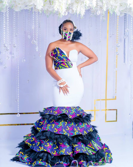 Latest Aso Ebi Styles 2020 for African Ladies