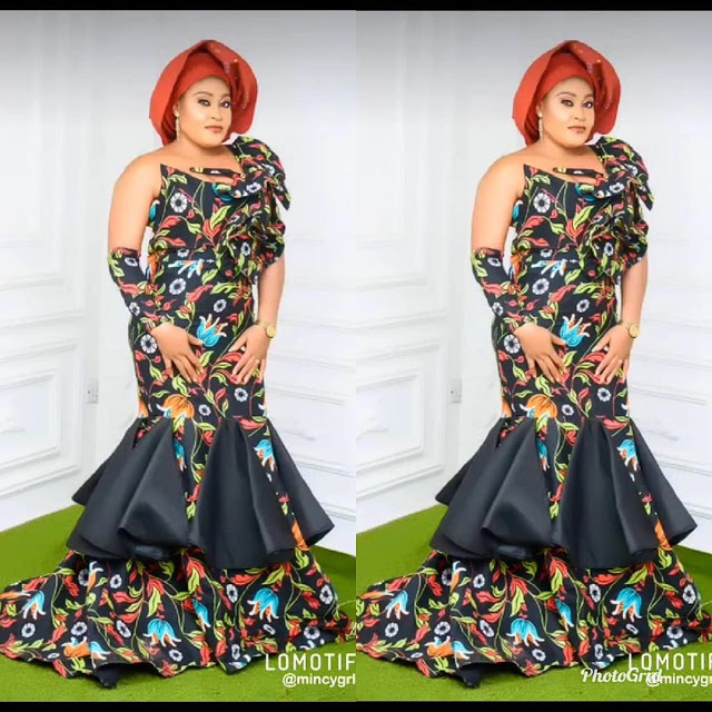 Beautiful Ankara Style - Aso Ebi Styles for Elegant Queens